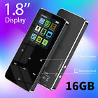 Portable HiFi MP3 Music Player FM Lossless Sound Recorder up to 32GB + Earphone