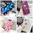 For iPhone XS X 8 7 Plus Case Slim Fit Cute Reflective Prote