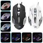 2400DPI Wired Optical USB Game Mouse LED Gaming Mice for PC Laptop Computer