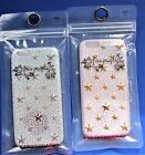 Free People iPhone 6 White or Pink Iridescent StarPlastic Sheel Case NIP