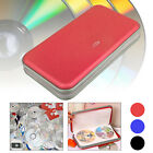 80 CD DVD Disc Storage Carry Case Bag DJ Holder Hard Box Portable Organizer New