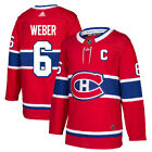 6 C Shea Weber Jersey Montreal Canadiens Home Adidas Authentic