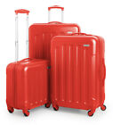 SUITLINE Koffer-Set Trolley-Set Hartschalen-Koffer Reisekoffer TSA S M & L
