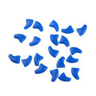 20 Pcs Pet Cat Nail Cover Claw Paw Cap Soft Gel Protector Adhesive Glue Fashion