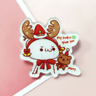 1Pc Christmas Tree Sock Santa Claus Deer Colorful Enamel Pin Brooches Lapel Pins