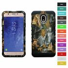 For Samsung Galaxy J7 Star Camo Camouflage Hybrid Rugged Armor Phone Case Cover