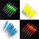 6/12/24x Shooting Archery LED Lighted Arrow Nock 6.2mm for Compound Bow Hunting