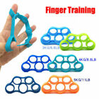 Finger Hand Exerciser Strengthener Wrist Forearm Grip Trainer Resistance Bands image
