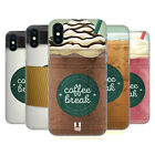 HEAD CASE DESIGNS COFFEE CUPS HARD BACK CASE FOR APPLE iPHONE PHONES