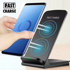 10W Qi Wireless Fast Charger Holder Charging Stand Pad Dock For iPhone XR Max