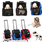 Pet Stroller Carries Dog Puppy Animals Trolley Totes Carrier Backpack Bag 5
