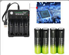 5800mAh Rechargeable 18650 Battery 3.7V Li-ion Battery Intelligent Smart Charger