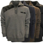 True Rock Men's December Half-Zip Golf Sweater,  Brand New