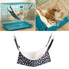 Внешний вид - Pet Cat Hammock LARGE Leopard Fur Bed Animal Hanging Dog Cage Comforter Ferret