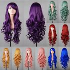 NEW Womens Ladies Long Wavy Curly Fancy Dress Coaplay Wigs New Party Costume