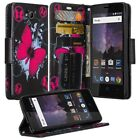For ZTE Tempo / ZTE Majesty Pro Case Leather Wallet Pouch Flip Cover