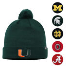 NCAA Top of the World Simple Cuffed Knit Hat with Pom