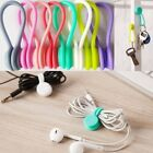 10pcs Multifunction Magnetic Earphone Cord Winder Organizer Cable Holder Clips