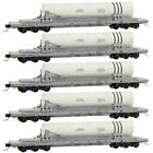 MTL 993 01 640 N, 68' Flat Car 6 Axle Booster Rocket Load, Navy Dept of Defense