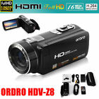 "FULL HD 1080P 24MP 3"" LCD 16X ZOOM Digital Video DV Camera Camcorder Anti-Shake"