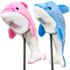 Golphin For Kids Dolphin Golf Club Head Covers Blue & Pink Available