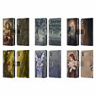SELINA FENECH FAIRIES 2 LEATHER BOOK WALLET CASE COVER FOR APPLE iPHONE PHONES