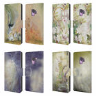 OFFICIAL STEPHANIE LAW FAERIES LEATHER BOOK CASE FOR SAMSUNG PHONES 1