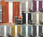 Thermal Pencil Pleat Curtains Westwood Textured Semi Plain Dim Out Ready Made