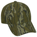 MOSSY OAK Camo Pattern OPTIONS Structured Blank Undecorated Hunting Hat CapHats & Headwear - 159035