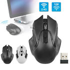 Wireless 2.4GHz 1600DPI USB Optical Gaming Mouse Mice For Laptop Desktop PC