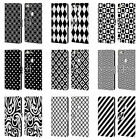 HEAD CASE DESIGNS BLACK AND WHITE PATTERNS LEATHER BOOK CASE FOR GOOGLE PHONES