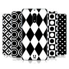HEAD CASE DESIGNS BLACK AND WHITE PATTERNS SOFT GEL CASE FOR NOKIA PHONES 1