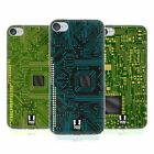 HEAD CASE DESIGNS CIRCUIT BOARDS SOFT GEL CASE FOR APPLE iPOD TOUCH MP3
