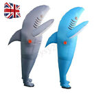 Funny Inflatable Costumes Shark Adult Christmas Fancy Dress Scary Dress Costume