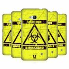 HEAD CASE DESIGNS HAZARD SYMBOLS HARD BACK CASE FOR MICROSOFT PHONES