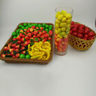 20Pcs Mini Artificial Fake Fruit Plastic Fruits Home House Party Kitchen Decor