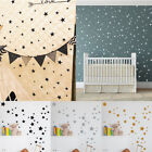 110pcs Multi-sized Star Wall Stickers Baby Room Bedroom Decals Art Vinyl Decor