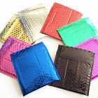 Metallic Foil Lined Padded Bubble Mailing Mail Postal Shiny Gift Bags Envelopes