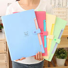 A4 Paper Expanding File Folder Pockets Accordion Document Organizer 10 Colour N