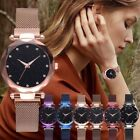 Luxury Women Starry Sky Watch Quartz Stainless Buckle Watches Valentine's  Gifts image