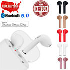 Bluetooth Wireless Headset i7s TWS Earbuds W/ Charger Box- Ear Earphone 5 Colors
