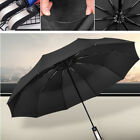 10Rib Compact Umbrella Automatic Folding Windproof Strong Travel Wind Contracted