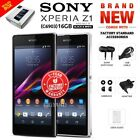 New&sealed Factory Unlocked Sony Xperia Z1 C6903 Black White 16gb Android Phone
