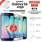 New Factory Unlocked Samsung Galaxy S6 Edge G925f Black White Gold Android Phone