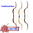 Traditional Recurve Bow NIKA Archery ET4 Meng Yuan Crab Bows Shooting Practise