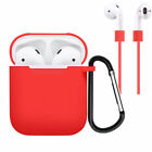 AirPods Silicone Case Cover Shockproof Protective Skin for Apple Airpod Charging