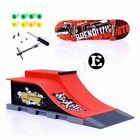 Skate Park Ramp Parts for Tech Deck Fingerboard Finger Board Parks Xmas Gift US