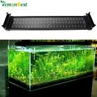 11W Fish Tank Aquarium LED Lighting 50CM-70CM Extendable Frame Lamp SMD 72 Leds
