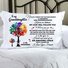 "To My Granddaughter I Love You Forever 20x30"" Rectangle Pillow Case Polyester image"
