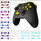 Chrome Color Full Set Buttons Replacements Part for Xbox One S X Game Controller